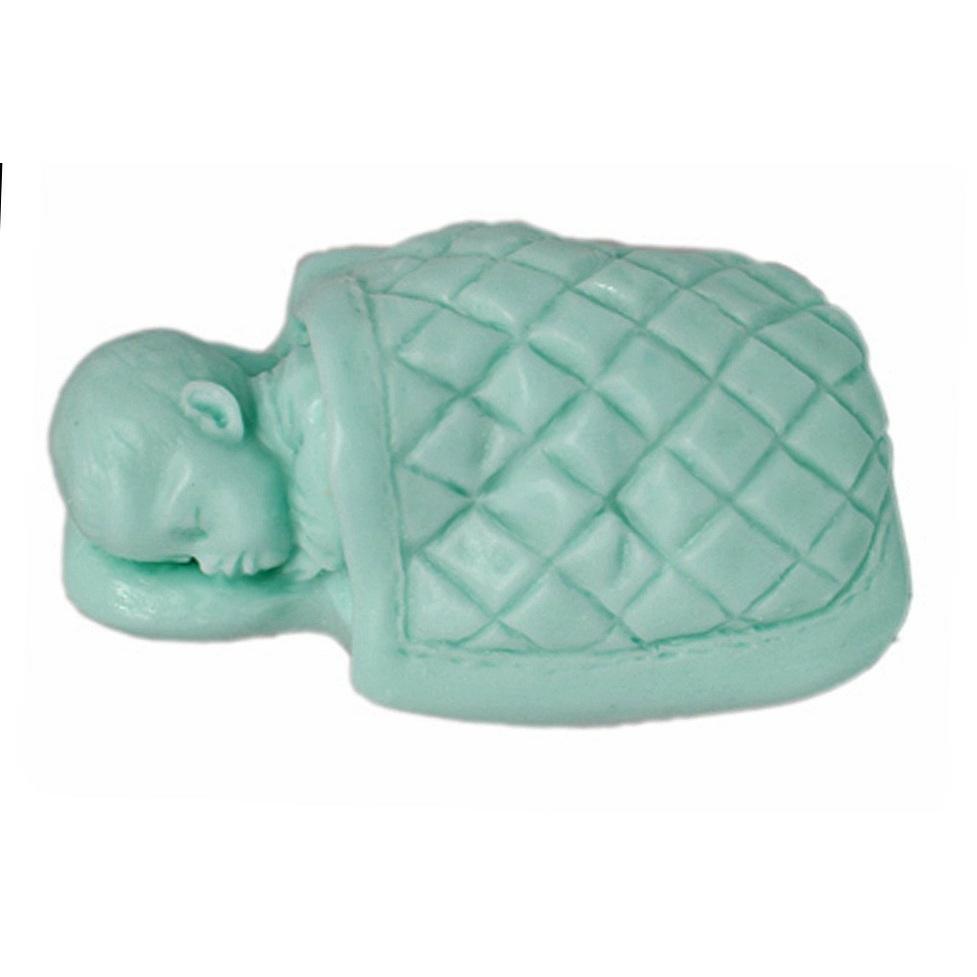 Molde para sabonete, Bebê com Cobertor