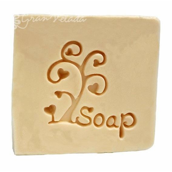 Sello para jabones arbolito soap