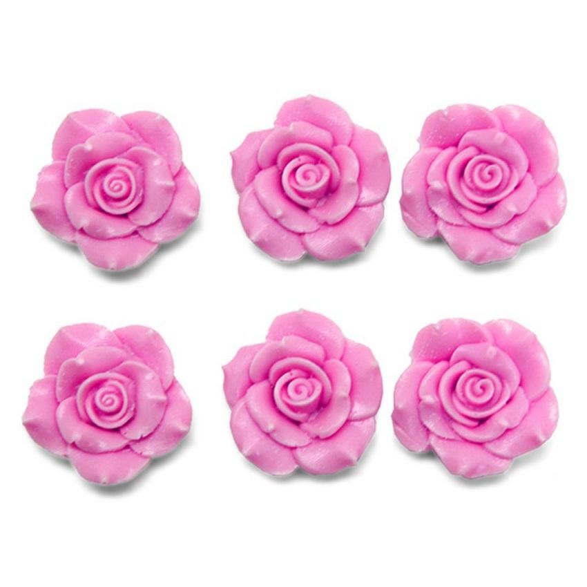 Molde figuras pequeñas 6 Rositas Deluxe
