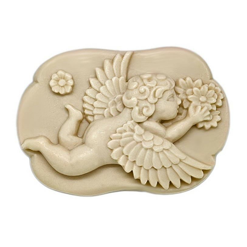 Molde pastilha de sabonete Cupido