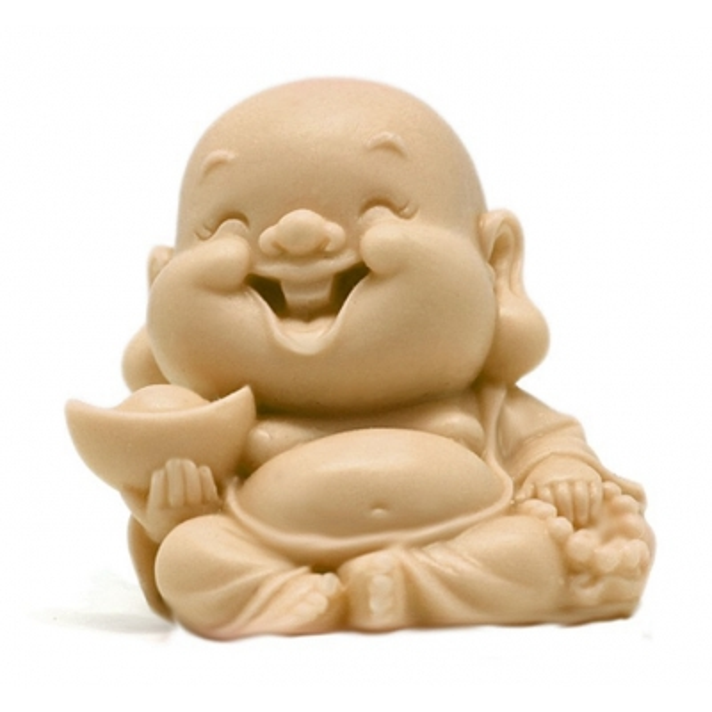 Molde para hacer jabon Buda cabezon Niño Sonriente
