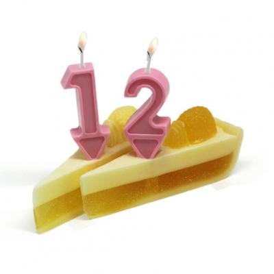 Molde para fazer velas de aniversário
