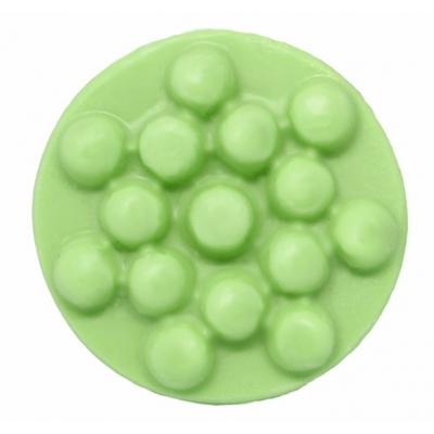 Molde para pastilha massajadora redonda