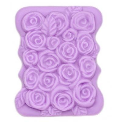 Molde para pastilha de sabonete Rosas