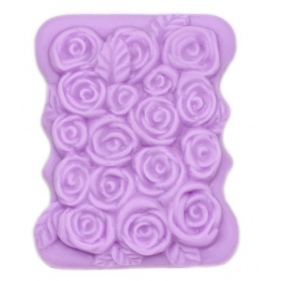 Molde para pastilla de jabón Rosas