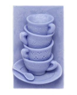 Molde para hacer pastillas de jabón Tazas de Café