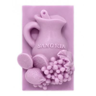 Molde para hacer Pastilla de jabon Jarra de Sangria