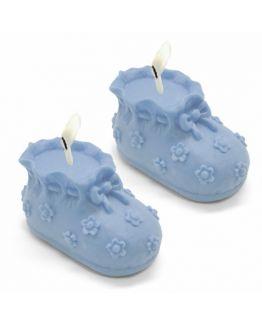 Molde para hacer velas Zapatitos de Bebe