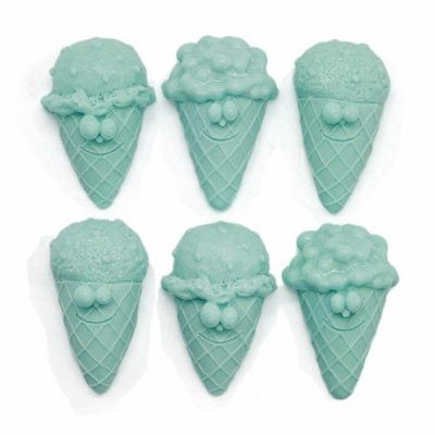 Molde figuras pequeñas 6 heladitos
