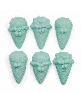 Molde para hacer helados en jabon