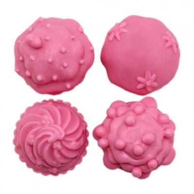 Molde manualidades 4 cupcakes