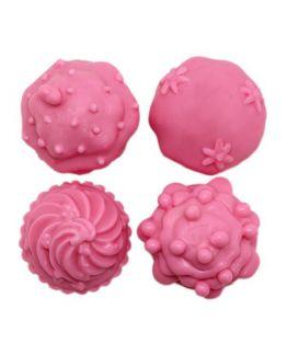 Molde de sabonetes, 4 cupcakes