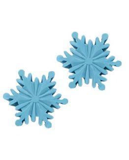 Molde pastilla jabon navideño Copo de nieve