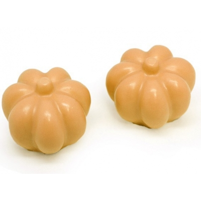 Molde para sabonetes de 2 Abóboras de Halloween 3D
