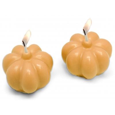 Molde para velas de 2 Calabazas de Halloween 3D