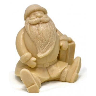 Molde para hacer jabon Papa Noel sentado