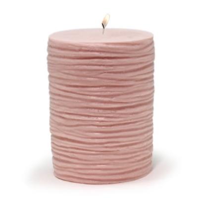 Molde para fazer velas diy Cilindro Estrías