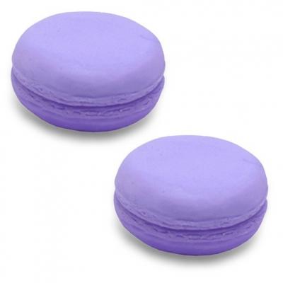Molde de silicone para sabonete ou bomba de banho, 2 Macarons.