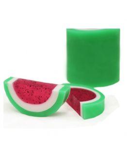 Kit como fazer sabonetes de melancia. Materiais e instruçoes