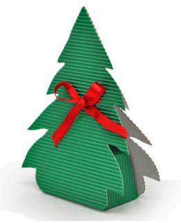 Cajita de regalo Árbol Navidad