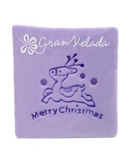 Sello de jabón navideño Renos de Papá Noel