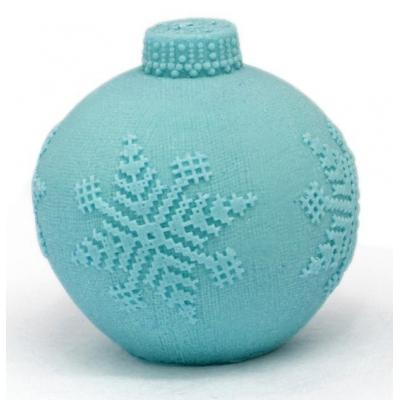 Molde para hacer jabón Bola de Arbolito Tejida