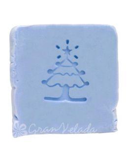 Carimbo para sabonetes Árvore de Natal