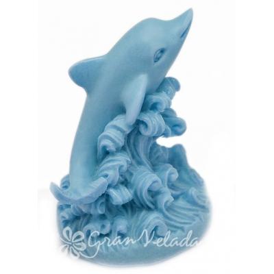 Molde jabon Delfin 3D