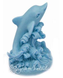 Molde jabon delfin