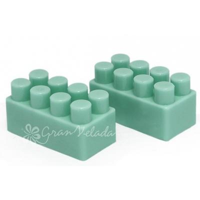 Molde de silicone Tijolos Pequenos