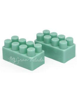 Molde de silicone, 2 Tijolos Pequenos