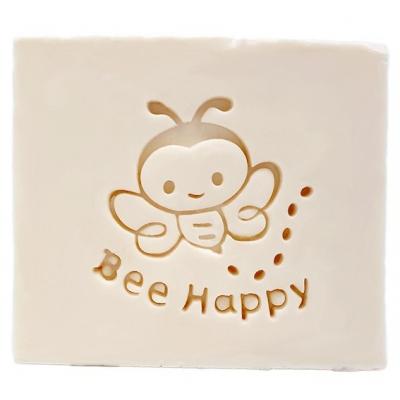 Carimbo para sabonete abelha feliz