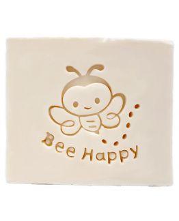 Carimbo abelha feliz