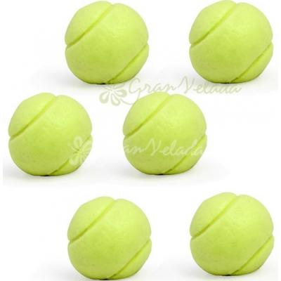 Molde para Sabonetes, 6 bolinhas de tenis mini