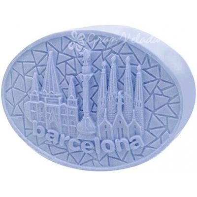 Molde de sabonete, Lembrança de Barcelona DIY