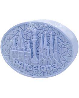 Molde de jabón, Recuerdo de Barcelona DIY