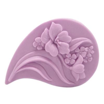 Molde de silicone lagrima de flores
