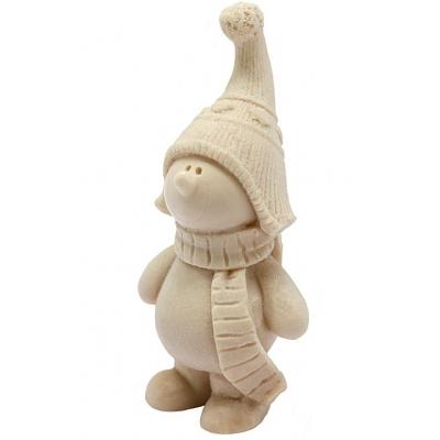 Molde navidad muñeco con gorrito