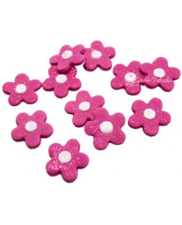 Flores Fucsia para decorar bombas de baño