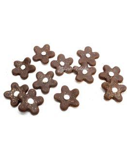 Flores Marrón Chocolate para decorar bombas de baño