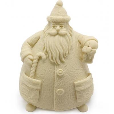Molde Santa Claus 3D, para fazer figuras decorativas.