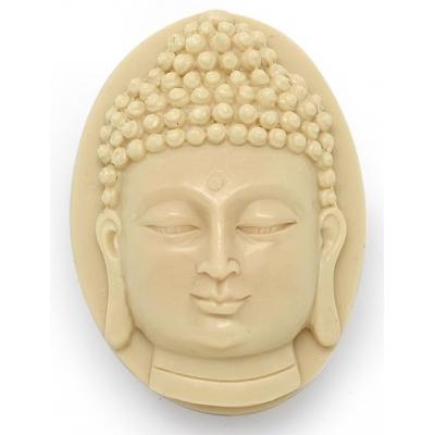 Molde para sabonetes artesanos, Pastilha Buda com Relevo.