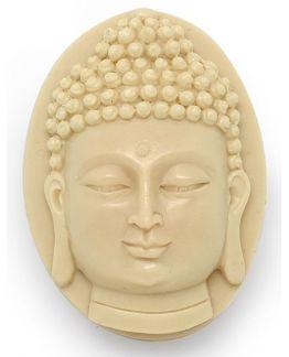 Molde pastilha sabonete Buda em relevo