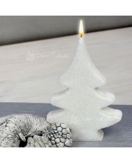 Molde para velas abeto plano grande