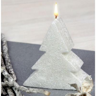 Molde para velas arbol de navidad 2D