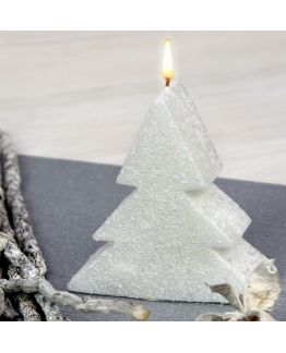 Molde para velas, Árbol de Navidad 2D