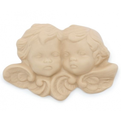 Molde para figuras de escaiola, 2 anjos.
