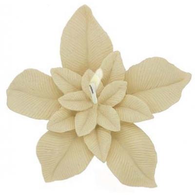 Molde para velas flutuantes, Flor de Páscoa Grande