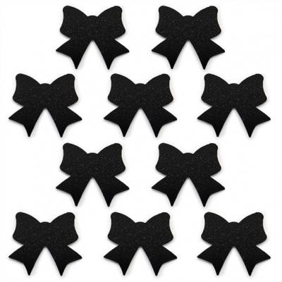 Adesivos 10 laços pretos
