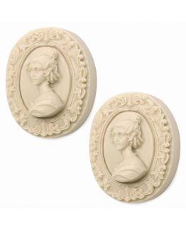 Molde pastilhas de sabão Camafeu Vienense.